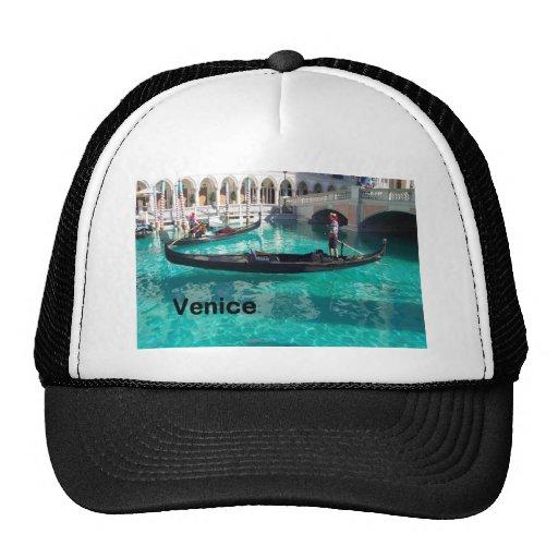 ¡Italia Venecia - góndola! (St.K) Gorras De Camionero