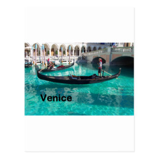 ¡Italia Venecia - góndola! (St.K) Postal