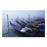 Italia, Venecia. Góndolas Fotografía