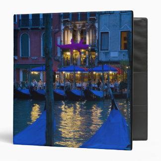"""Italia, Venecia, opinión de la noche a lo largo Carpeta 1 1/2"""""""
