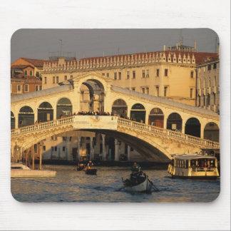 Italia, Véneto, Venecia, canal grande y Rialto Tapete De Raton