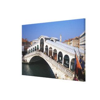 Italia, Véneto, Venecia, travesía del puente de Ri Lona Estirada Galerias
