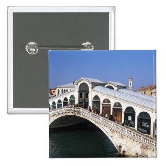 Italia Véneto Venecia travesía del puente de Ri Pins