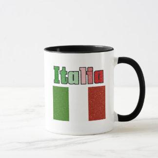 Italia Vintage Flag Coffee Mug