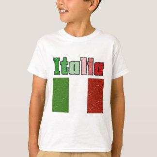 Italia Vintage Flag Kids T-Shirt