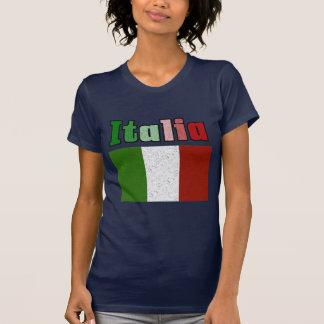 Italia Vintage Flag T-Shirt