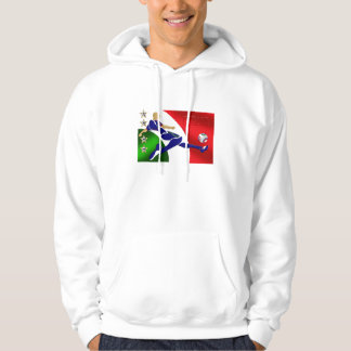 Italia Volley Forza Azzurii soccer calcio gifts Hoodie