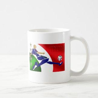 Italia Volley Forza Azzurii soccer calcio gifts Classic White Coffee Mug