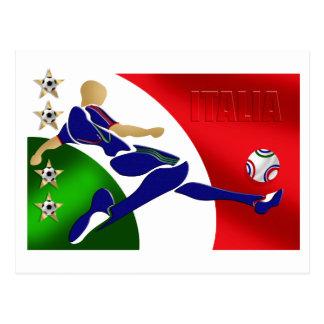 Italia Volley Forza Azzurii soccer calcio gifts Postcard