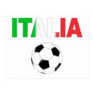 Italia world cup 2010 postcard