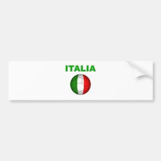 Italia World Cup T-Shirt Bumper Sticker