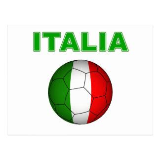 Italia World Cup T-Shirt Postcard