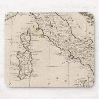 Italia, y Cerdeña Alfombrillas De Ratón