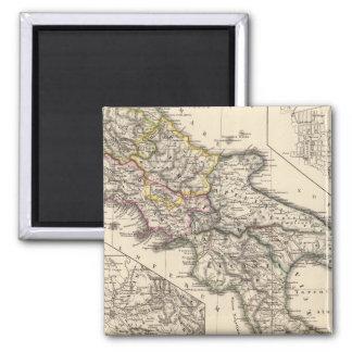 Italiae regiones IIIII, Sicilia 2 Inch Square Magnet