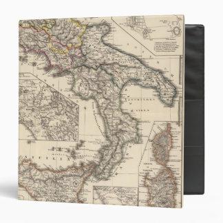 Italiae regiones IIIII, Sicilia Binder