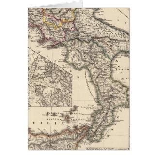 Italiae regiones IIIII, Sicilia Card