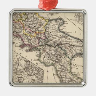 Italiae regiones IIIII, Sicilia Metal Ornament