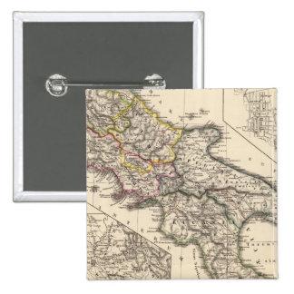 Italiae regiones IIIII, Sicilia Pinback Button