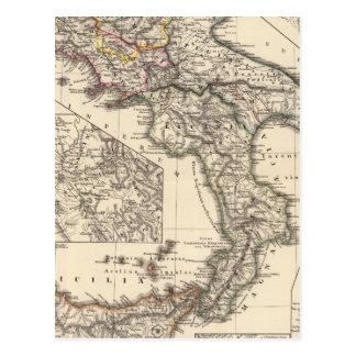 Italiae regiones IIIII, Sicilia Postcard