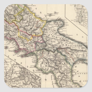 Italiae regiones IIIII, Sicilia Square Sticker