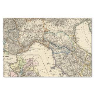 """Italiae regiones IIIIXI 10"""" X 15"""" Tissue Paper"""