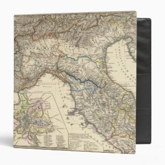 Italiae regiones IIIIXI 3 Ring Binder