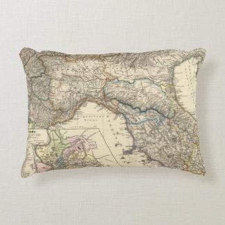 Italiae regiones IIIIXI Decorative Pillow