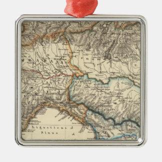 Italiae regiones IIIIXI Metal Ornament