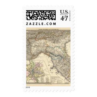 Italiae regiones IIIIXI Postage