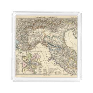 Italiae regiones IIIIXI Serving Tray