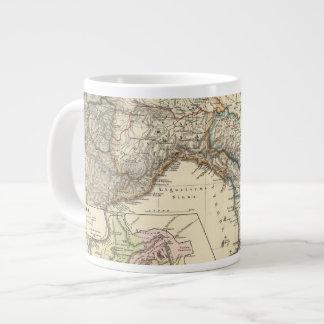 Italiae regiones IIIIXI 20 Oz Large Ceramic Coffee Mug