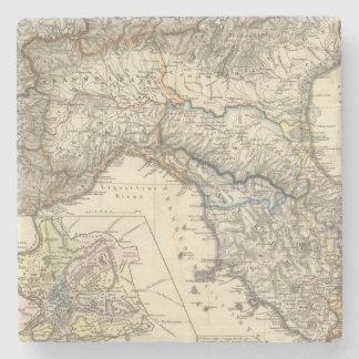 Italiae regiones IIIIXI Stone Coaster