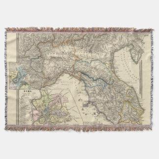 Italiae regiones IIIIXI Throw