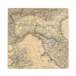 Italiae regiones IIIIXI Wood Coaster