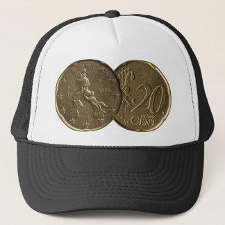 Italian 20 Cent Coin Trucker Hat