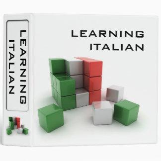 "Italian 2"" Binder"