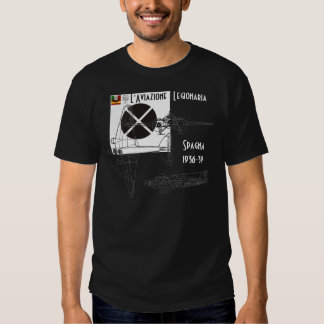 Italian Air Force Spain civil war Mussolini Shirt