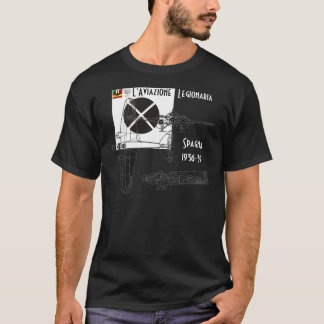 Italian Air Force Spain civil war Mussolini T-Shirt