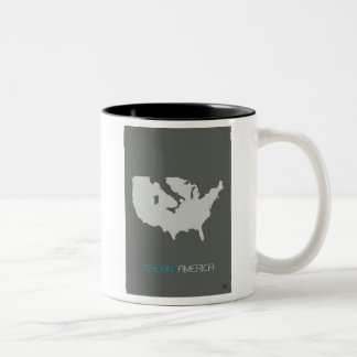 Italian America Two-Tone Coffee Mug