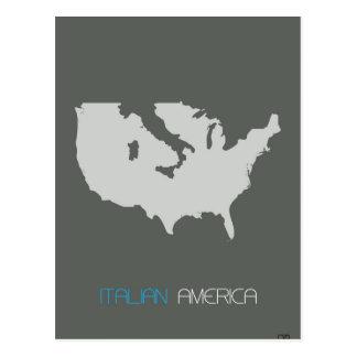 Italian America Postcard