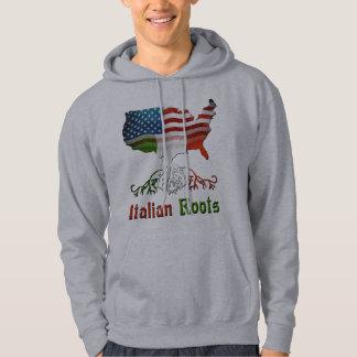 Italian American Ancestry Hoodie