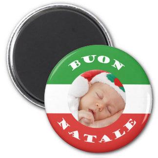 Italian-American Christmas Photo Magnet