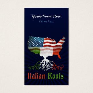 Italian American Coliseum Custom Business Cards