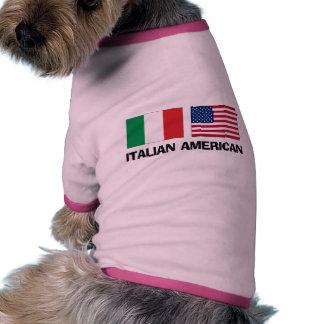 Italian American Pet T Shirt