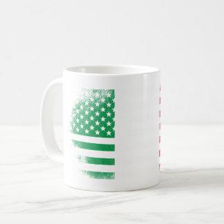 Italian American Flag   Italy and USA Design Coffee Mug