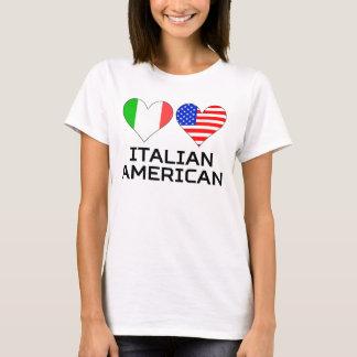 Italian American Hearts T-Shirt