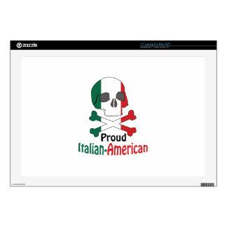 Italian American Laptop Decal