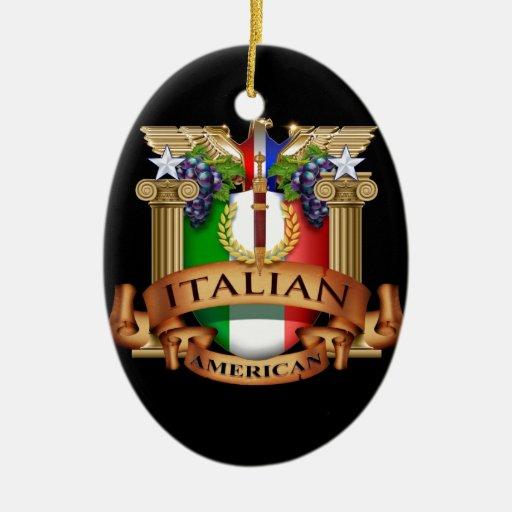 Italian American Ornament