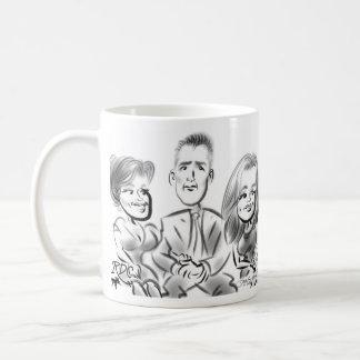 Italian American Pharmacists Caricatures 2014e Coffee Mug