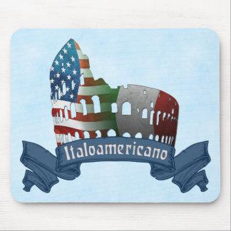 Italian American Rome Coliseum Mousemat Mouse Pad